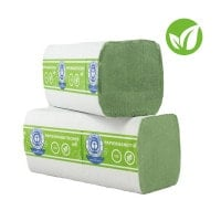 Toallas de papel dobladas, de 2 capas