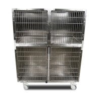 Stainless steel kennel