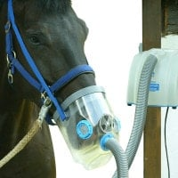 Air-One ultrasone inhalator voor paarden