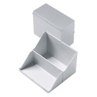 Platic index card boxes, DIN A5