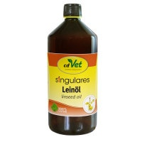 Leinöl für Tiere