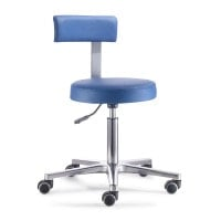 Swivel Stool with Backrest