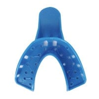 Impression tray, front teeth