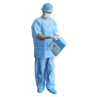 Disposable surgical clothing, non-sterile