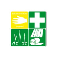 "Square ""First Aid"" Pictogram"