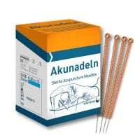 Acupuncture Needles with Copper Grip