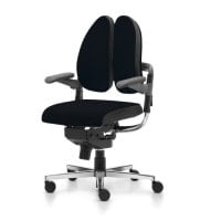 Rohde & Grahl Xenium Duo-Back® Basic office chair with Freework® mechanism