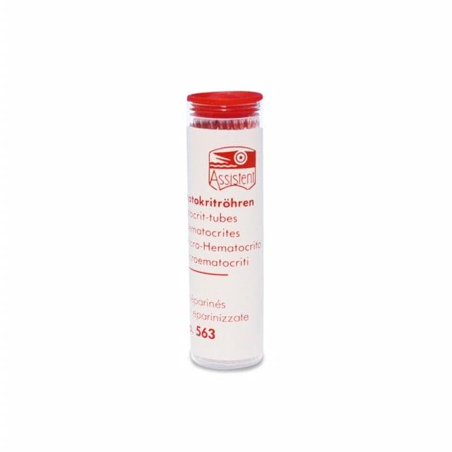 Hematocriet-capillairen, gehepariniseerd