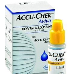 Accu-Chek, Aviva, solution de contrôle