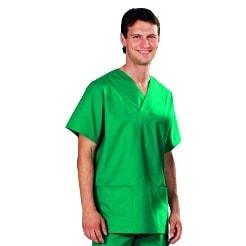 OP-Kasack für Damen und Herren, grün