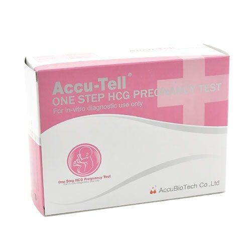 Accu-Tell hCG Pregnancy Test, 20 Tests