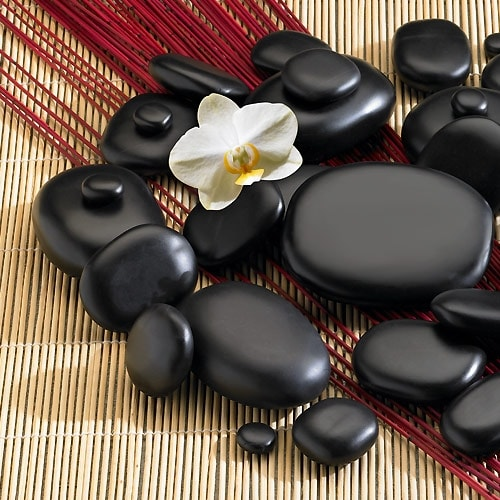 Hot Stone Therapy - Professional Set of 45 Stones