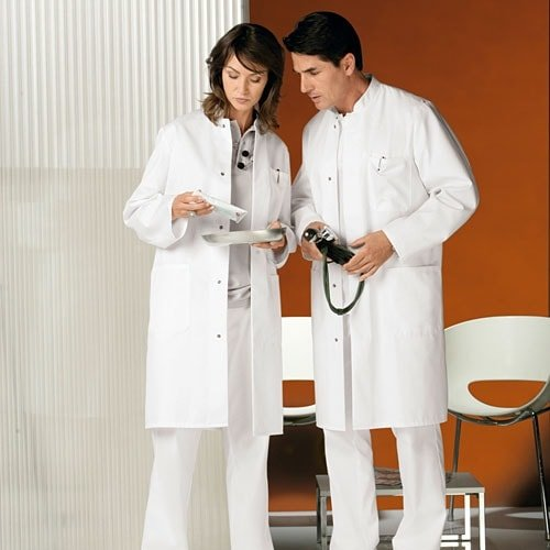 His and Hers Doctor's Coat
