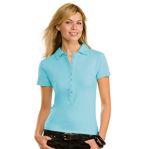 Womens' Multi-buttoned-Polo