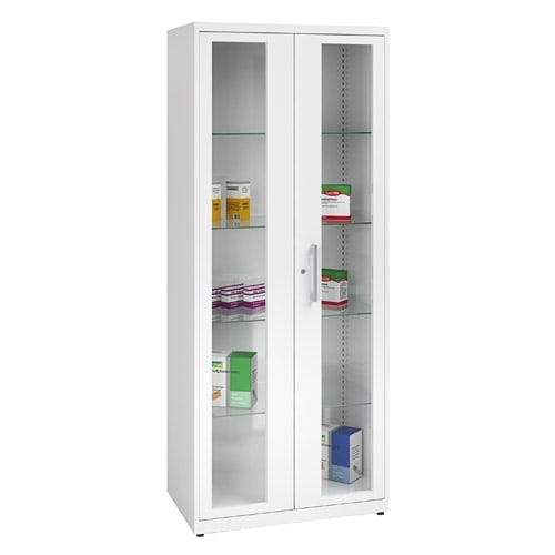 metallic medicine-chest wide | white (RAL 9010)