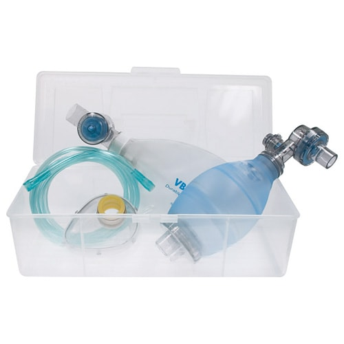 Silicone Resuscitation Bag Set for adults