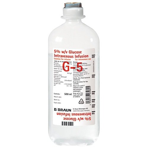 Glucose-infusieoplossing 5%