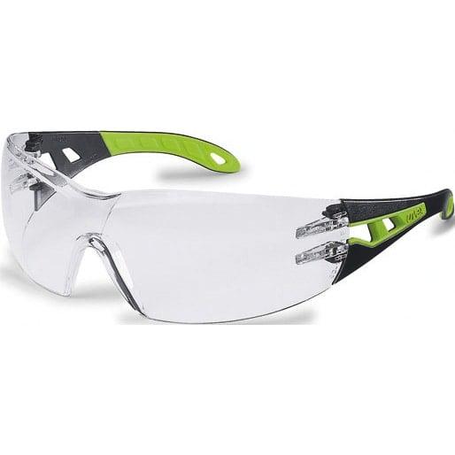 uvex pheos Schutzbrille schwarz-grün