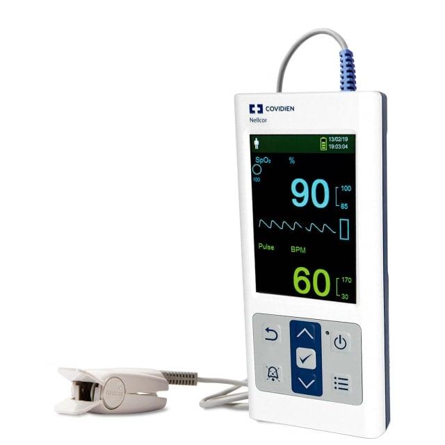 Nellcor PM10N Oxímetro de pulso de mano