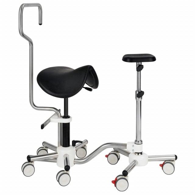Combo Unit with Saddle Stool & Leg Rest