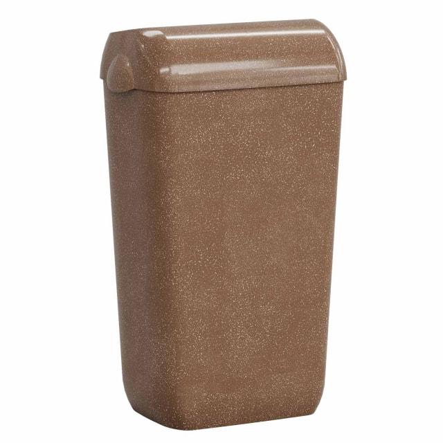 Mar Plast Woodplastic - Cubo de basura de madera plástica