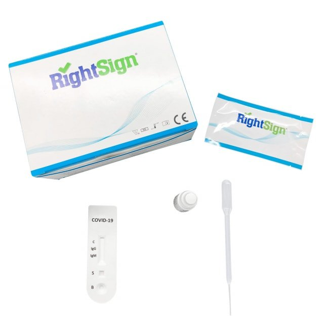 Test rápido COVID 19 «Right Sign»