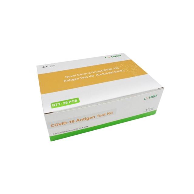 Novel test na antygeny koronawirusa (COVID-19)