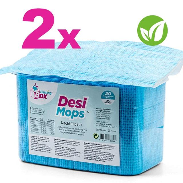 DesiMops 360° Disinfectant Mops Refill Pack