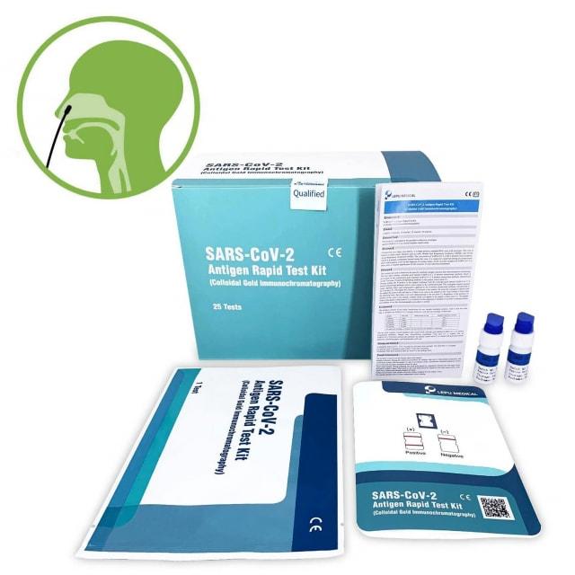 Nasocheck SARS-CoV-2 Antigen-Testkarten