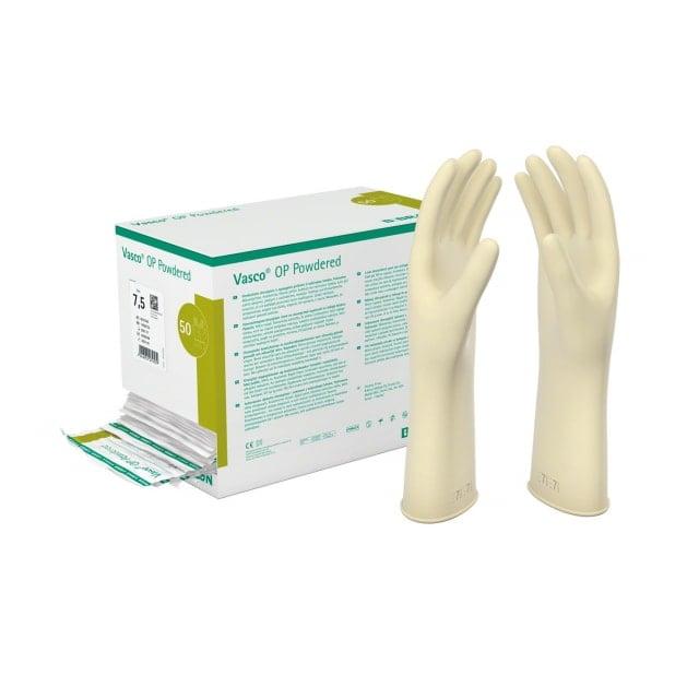 Vasco OP Powdered, gants chirurgicaux, poudrés