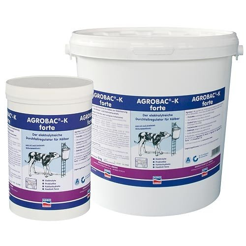 Agrobac-K forte, régulateur de diarrhée chez les veaux 1kg