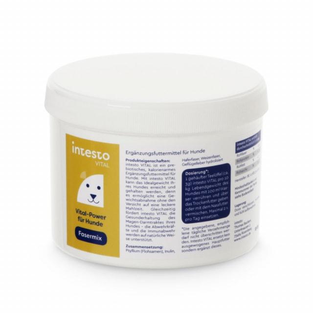 intesto VITAL, Nahrungsfasermix für Hunde