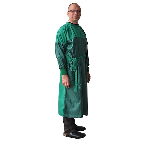 Surgical Gown with Protection Zones