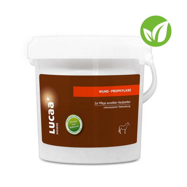 LUCAA+ Probiotische Wundprophylaxe für Pferde
