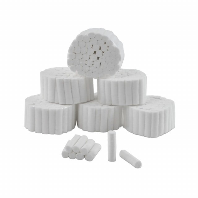 Rollos de algodón dental