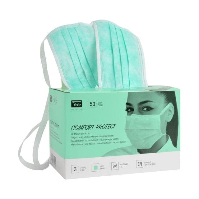 Masque chirurgical, trois plis