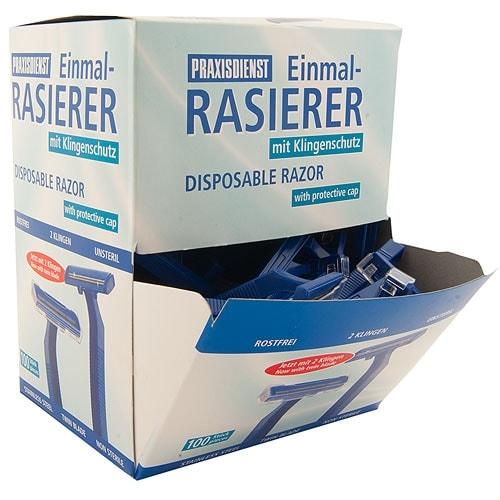 Disposable Razors, 100 pieces