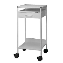 Stand workstation/Laptop-trolley