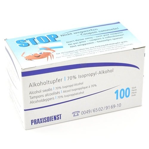 Antiseptic Wipes,100 alcohol wipes