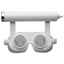 Nystagmusbril volgens Blessing