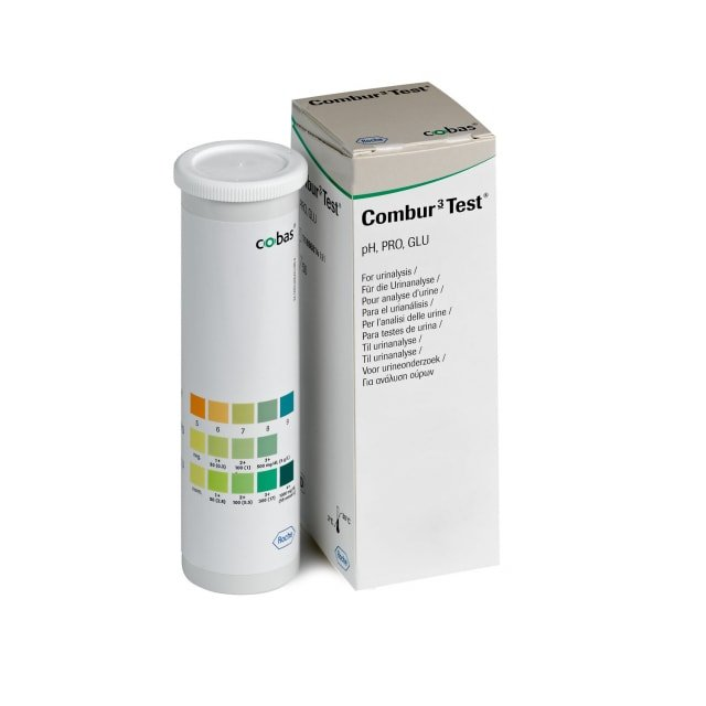 Combur 3 Test, 50 Urinteststreifen