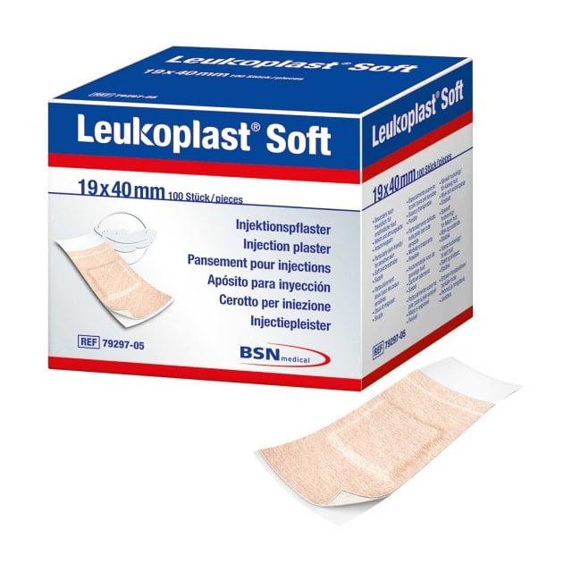 Apósitos para inyecciones Leukoplast Soft