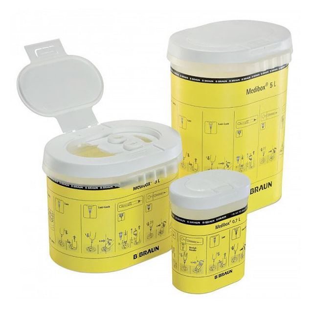 Medibox sharps container 0,7 L