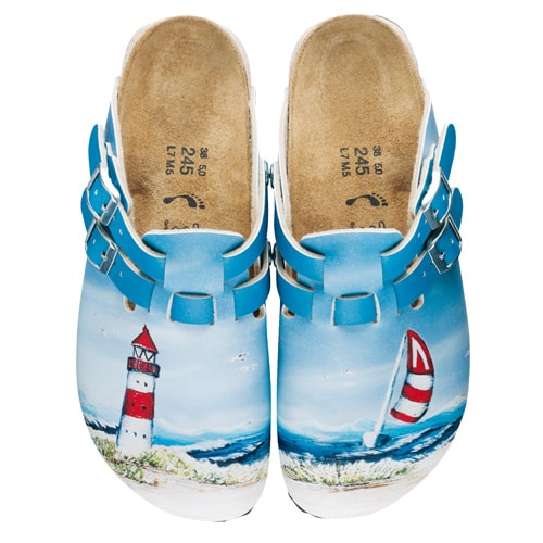 Birkis «Ostsee» Clogs for Ladies Lighthouse | 35