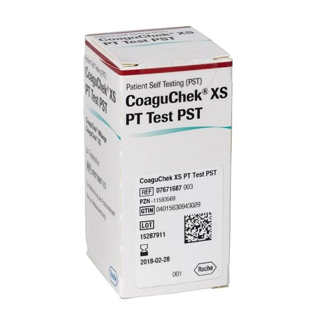 CoaguChek XS PT Test, PST Test Strips