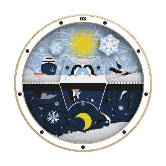 Gra ścienna IKC «Dzień i noc w Arktyce»