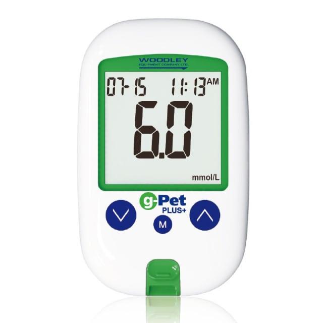 g-Pet Plus Blutzuckermessgerät für Tiere