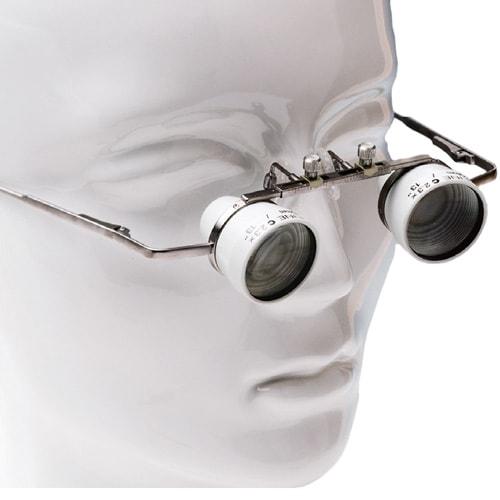 Heine-Lupenbrille mit Etui