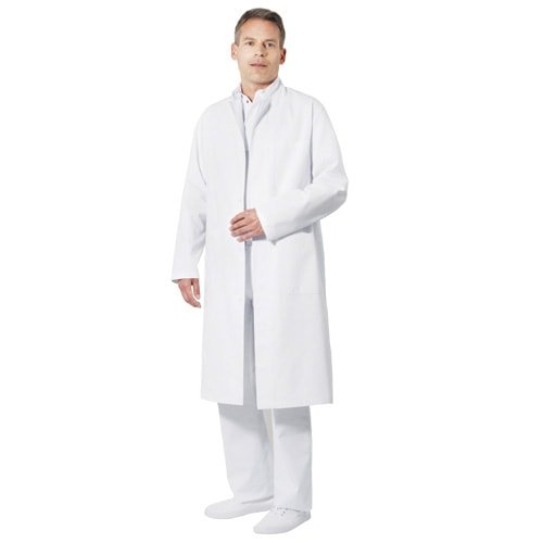Medical Coat with Stand-up Collar