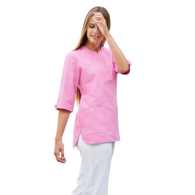 Damen-Schlupfkasack rosa | XS
